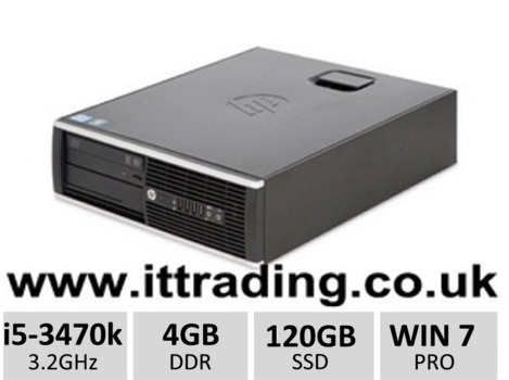10 x HP 8300 Elite i5 3470 @ 3.20GHz 4gb 120gb SSD