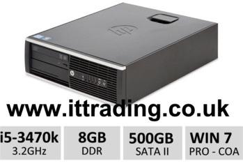 10 x HP8300 Elite i5 3470 3.20GHz 8gb 500gb W7