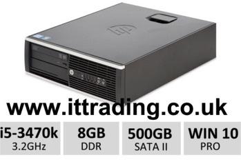 10 x HP8300 Elite i5 3470 3.20GHz 8gb 500gb W10